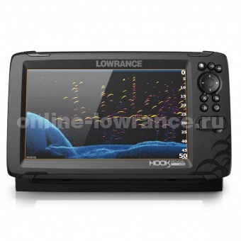 Эхолот Lowrance HOOK REVEAL 9 TRIPLESHOT ROW